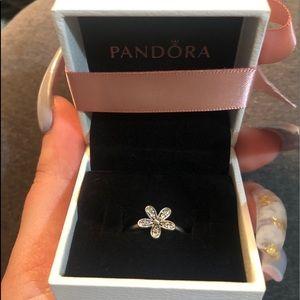Pandora flower ring
